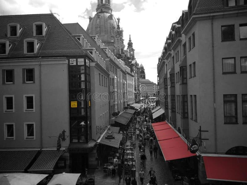 A vista na rua fotografia de stock royalty free