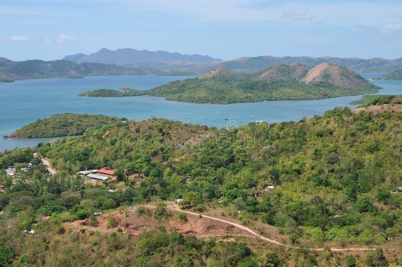 Vista nas ilhas pequenas fotos de stock royalty free