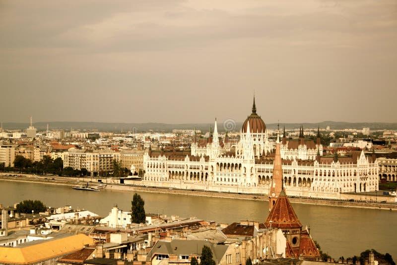 Vista no Budapest imagens de stock royalty free