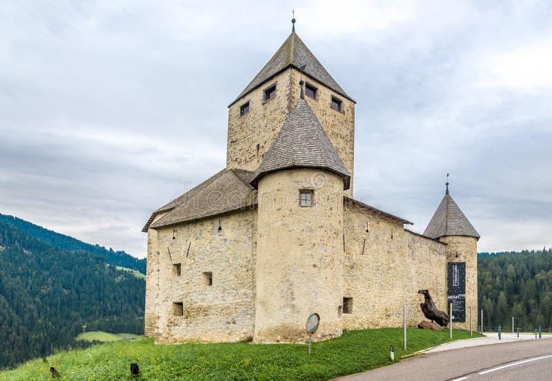 Vista no castelo de San Martino - Itália imagem de stock royalty free