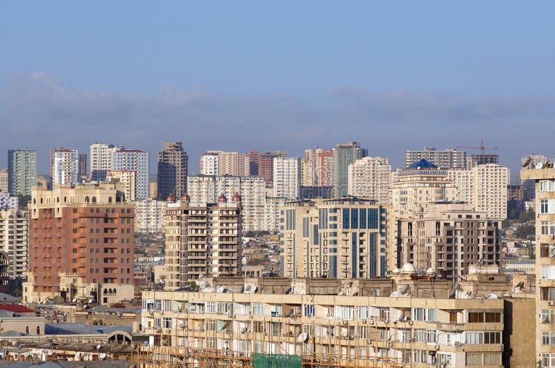 Vista no centro de cidade. imagem de stock royalty free