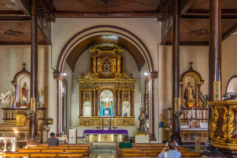 Vista no coro de Rcolletion em Leon - Nicar?gua imagem de stock royalty free