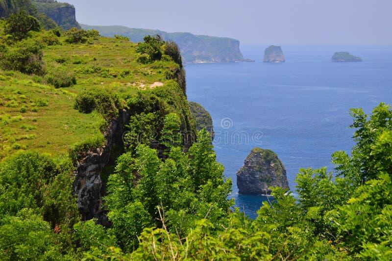 Vista no Oceano Índico fotos de stock royalty free