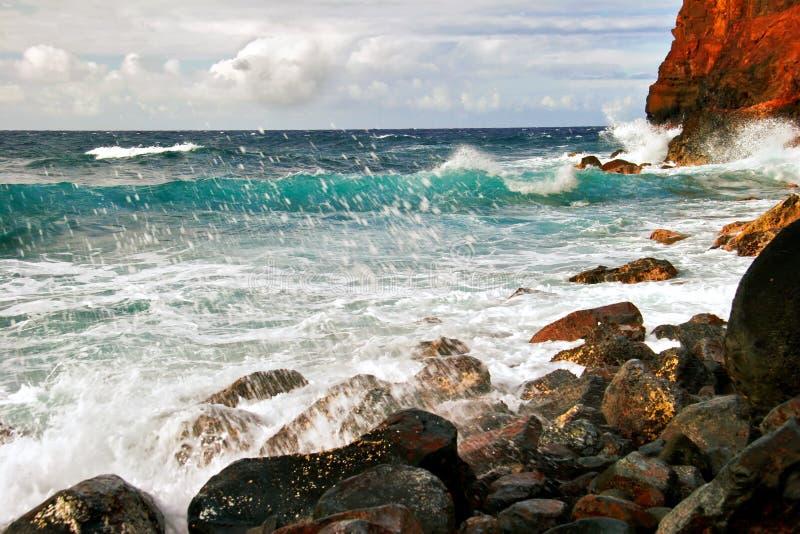 Vista no oceano imagens de stock