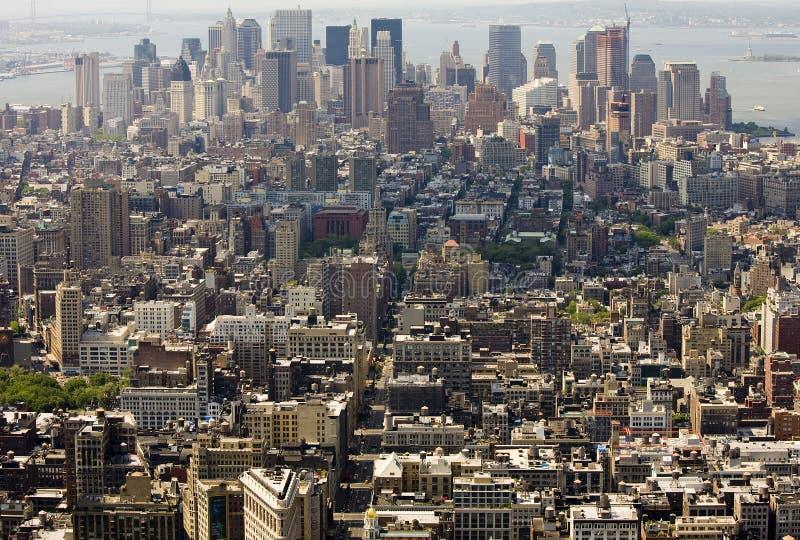 Download Vista Panorámica Aérea De Manhattan Imagen de archivo - Imagen de paisaje, nuevo: 7286987