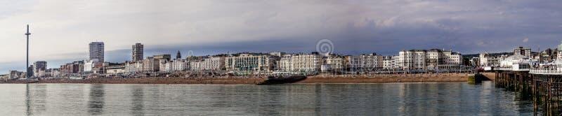 Vista panorámica de Brighton fotografía de archivo