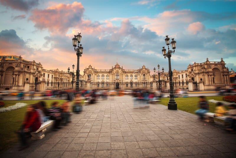 Vista panorámica de Lima foto de archivo libre de regalías