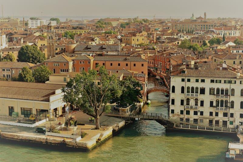 Vista panorámica de Venecia imagen de archivo libre de regalías