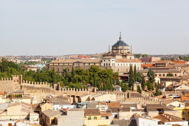 Vista panorámica a Toledo foto de archivo libre de regalías