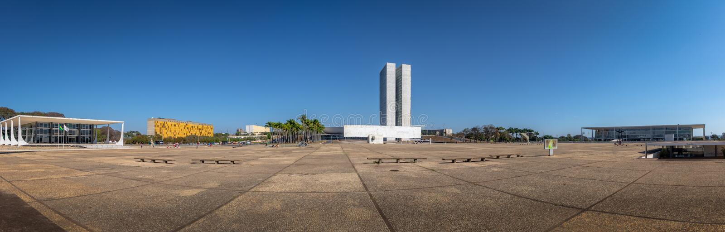 Dos Tres Poderes De Praca Da Plaza De Três Poderes No Por Do Sol - Brasília, Distrito Federal, Brasil Fotografia Editorial - Imagem de famoso, oscar: 127163092
