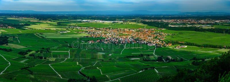 Vista panorâmica de alta resolução aérea larga do por do sol sobre a GR foto de stock