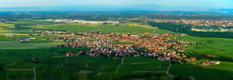 Vista panorâmica de alta resolução aérea larga do por do sol sobre a GR foto de stock royalty free