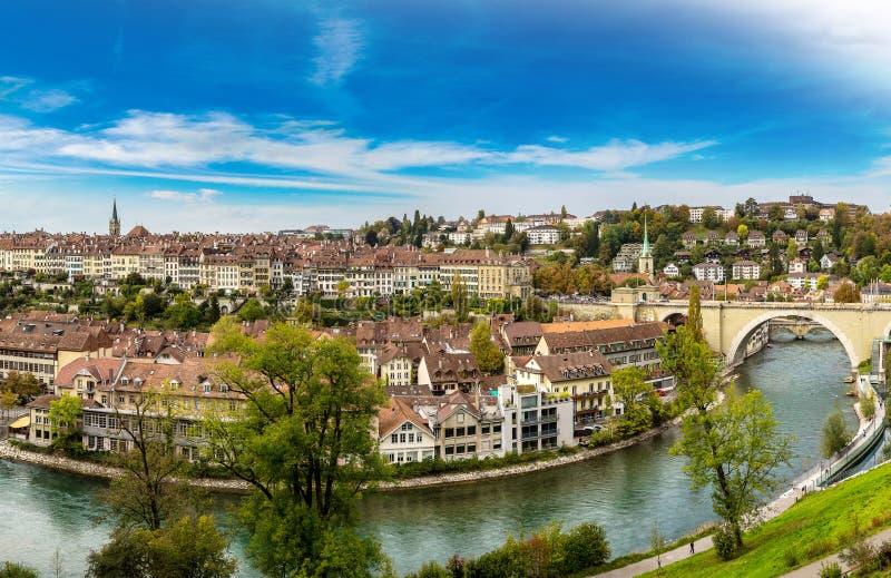 Vista panorâmica de Berna fotos de stock