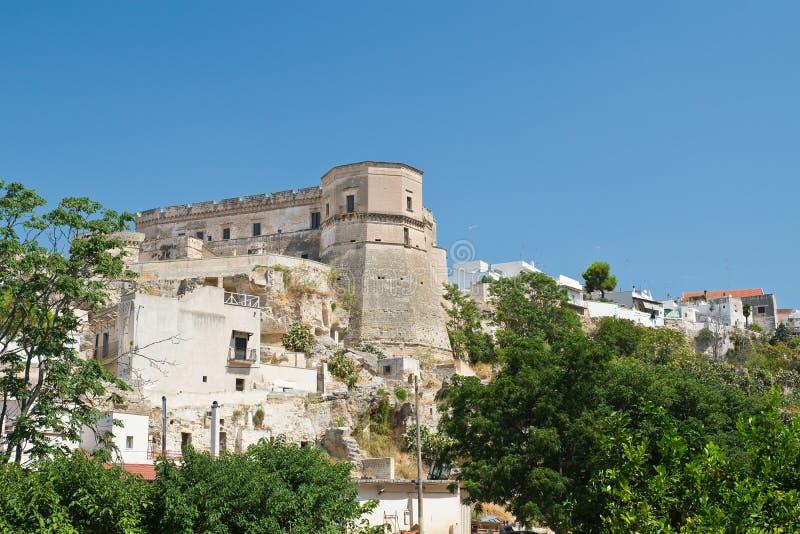 Vista panorâmica de Massafra Puglia Italy imagem de stock royalty free