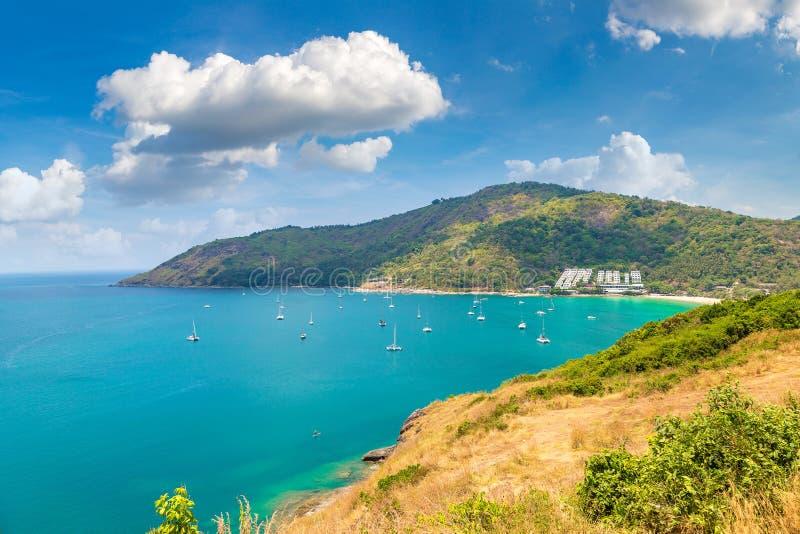 Vista panorâmica de Phuket imagem de stock royalty free