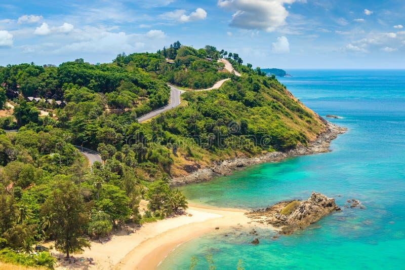 Vista panorâmica de Phuket foto de stock