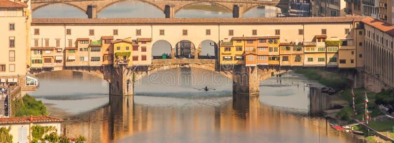 Florença - Ponte Vecchio imagens de stock
