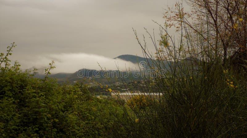 Vista panorâmica do LA TORRE-Andaluzia-Espanha-Europa de Retamar 2-ALHAURIN DE fotos de stock