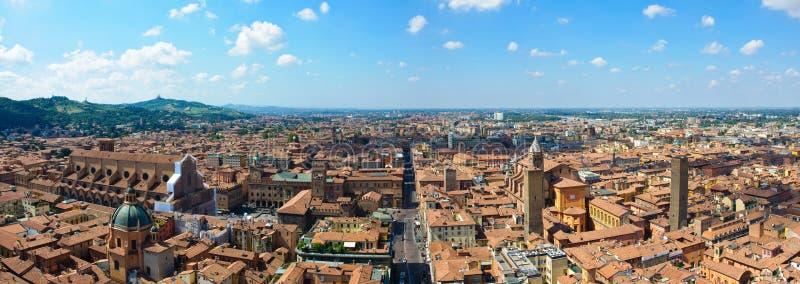 Vista panorâmico da Bolonha, Italy fotografia de stock