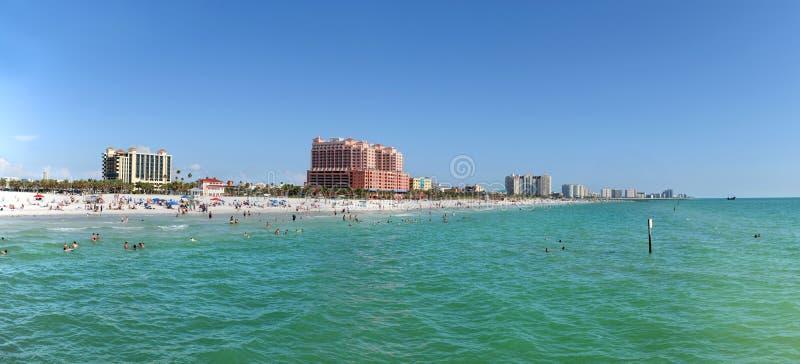 Vista panorâmico de Clearwater, Florida imagem de stock
