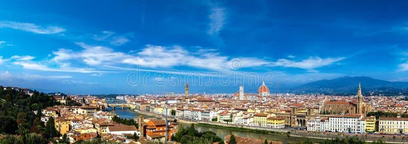 Vista panorâmico de Florença foto de stock