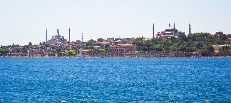 Vista panorâmico de Istambul foto de stock royalty free