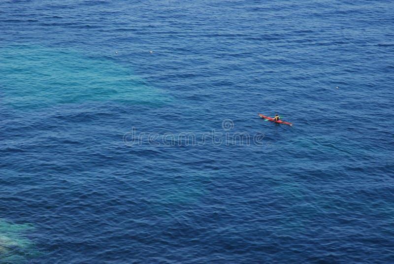 Vista panor?mica bonita sobre a ilha da Ilha de Elba em It?lia x imagem de stock