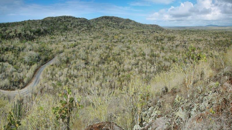 Vista panoramica da Cerro Orchilla immagini stock
