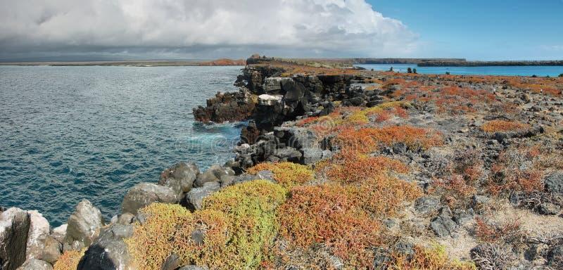 Vista panoramica dell'isola del sud della plaza fotografia stock