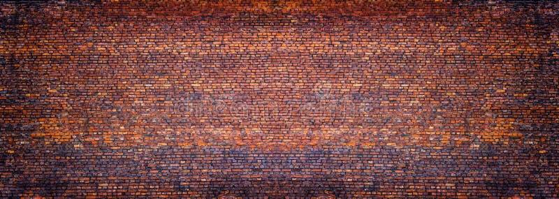 Vista panoramica della muratura, muro di mattoni come fondo fotografie stock