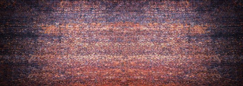 Vista panoramica della muratura, muro di mattoni come fondo immagine stock libera da diritti