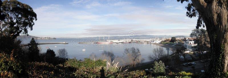 Vista panoramica della sosta acquatica a San Francisco immagine stock libera da diritti