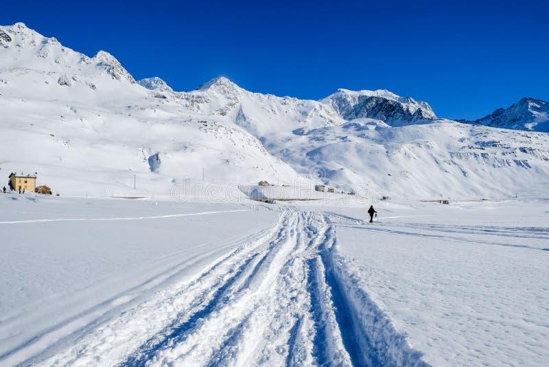 Vista panoramica di Alpes fotografia stock libera da diritti