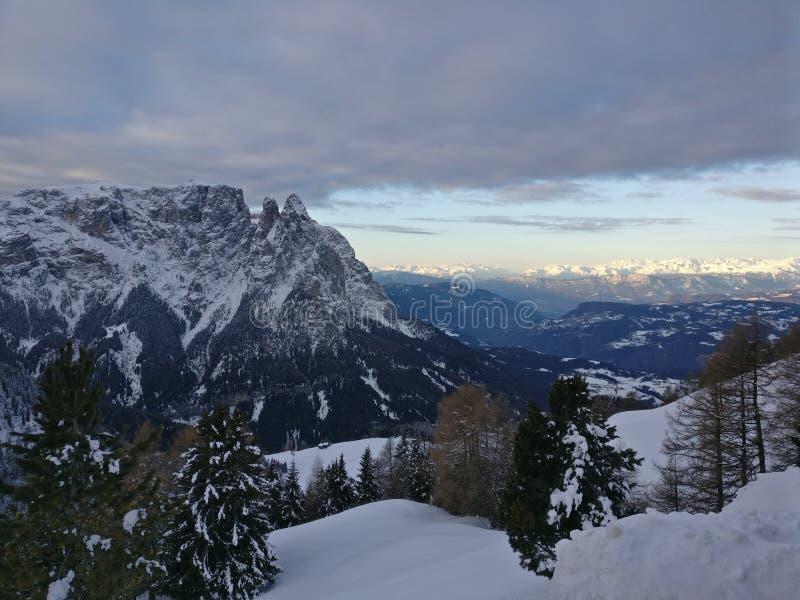 Vista panoramica di Alpes fotografie stock libere da diritti