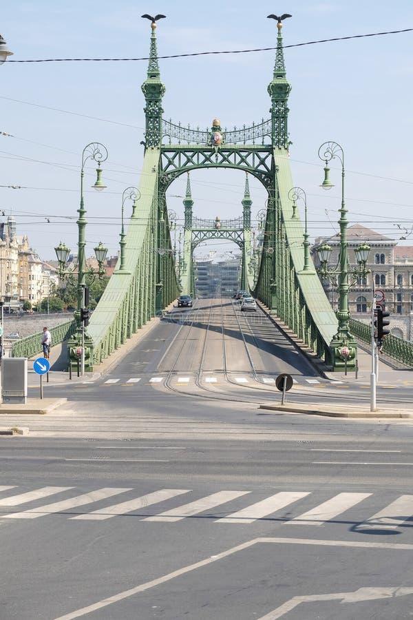 Vista panoramica di Budapest fotografia stock
