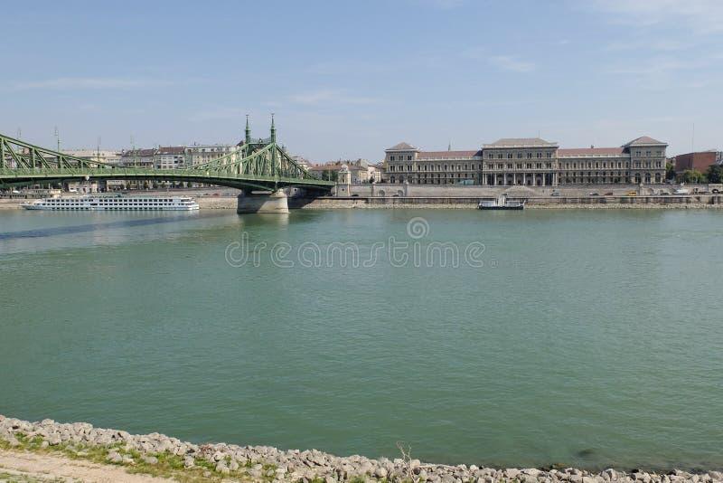 Vista panoramica di Budapest fotografie stock