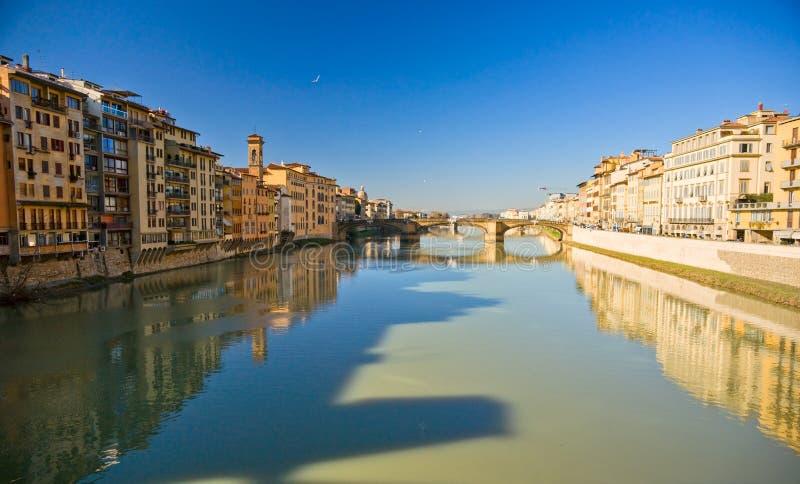 Vista panoramica di Firenze. immagini stock libere da diritti
