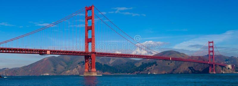 Vista panoramica di golden gate bridge a San Francisco, California immagine stock libera da diritti