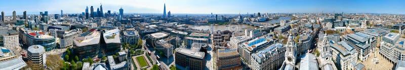 Vista panoramica di Londra 360 immagini stock libere da diritti