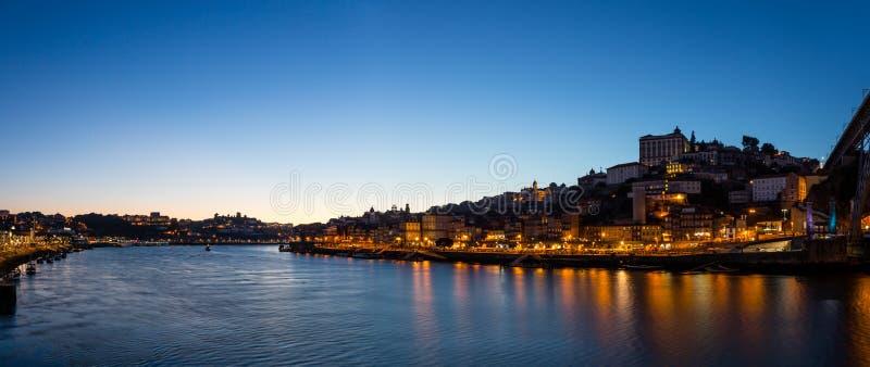 Vista panoramica di Oporto fotografie stock libere da diritti