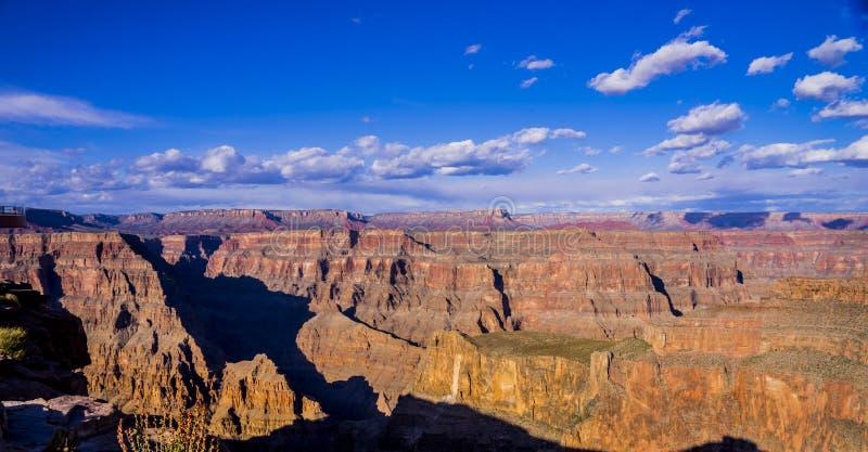 Vista panoramica sopra Grand Canyon Arizona immagini stock libere da diritti