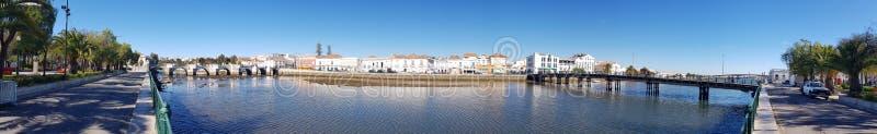 Vista-panoramica Tavira stockbild