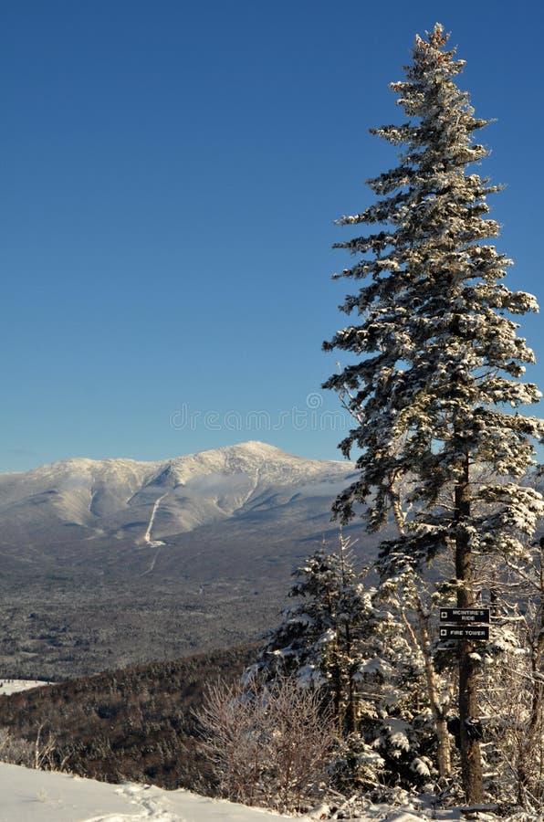 Vista para montar Washington em de New-Hampshire imagem de stock royalty free