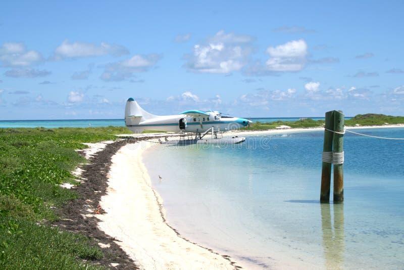 Vista para o mar no parque nacional seco de Tortugas fotos de stock