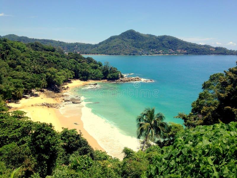 Vista a Phuket immagini stock libere da diritti