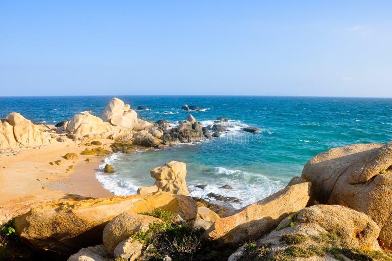 Vista piacevole all'oceano fotografia stock