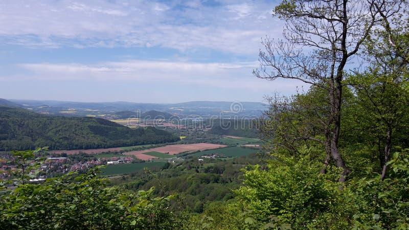 Vista Plesseturm immagini stock