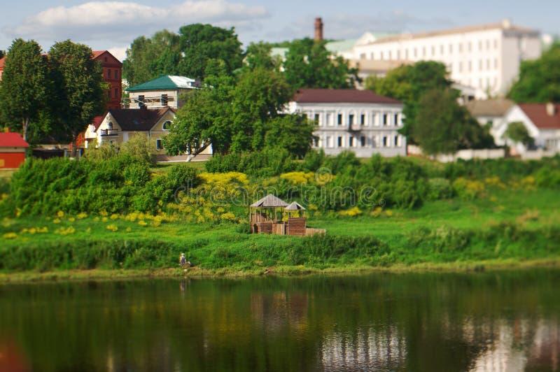 Vista Polotsk belarus fotografia de stock royalty free