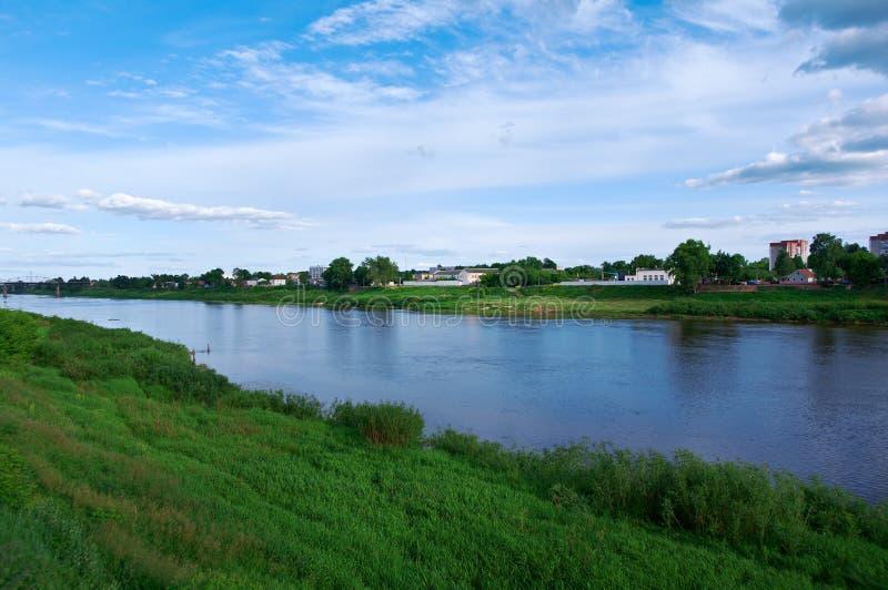 Vista Polotsk belarus imagens de stock