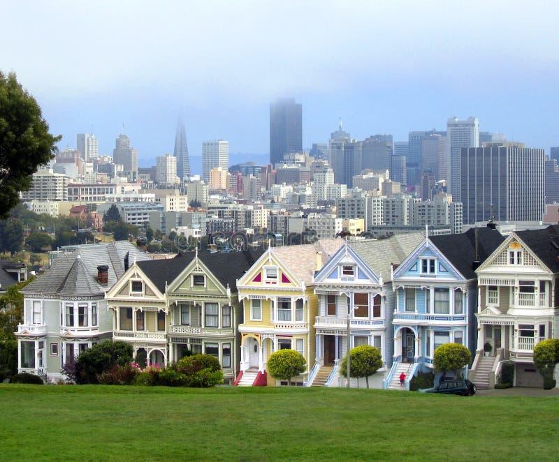 Vista popolare di San Francisco immagine stock libera da diritti